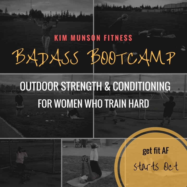 Badass bootcamp - for women who train hard